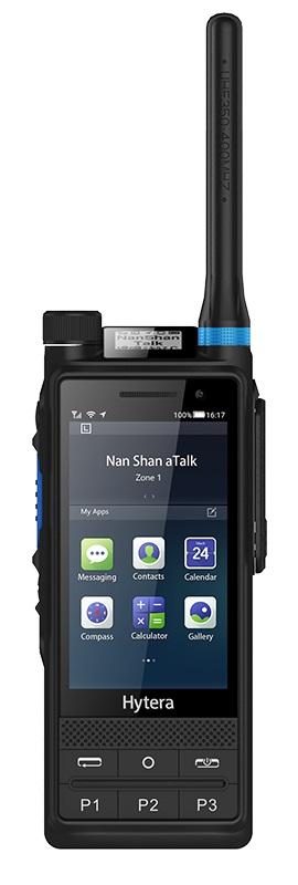 Android radiostanice Hytera PTC680 propojuje technologie TETRA a LTE