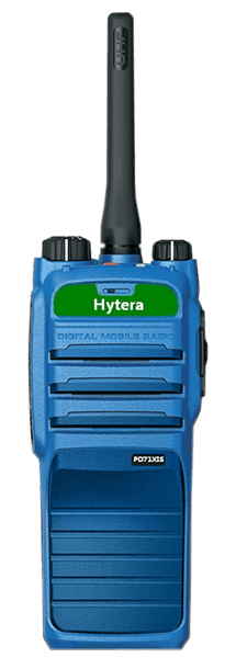 Hytera PD715 IS - DMR ATEX two-way radio