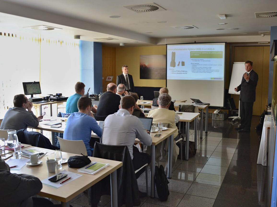 Hytera představila novinky na semináři v Brně