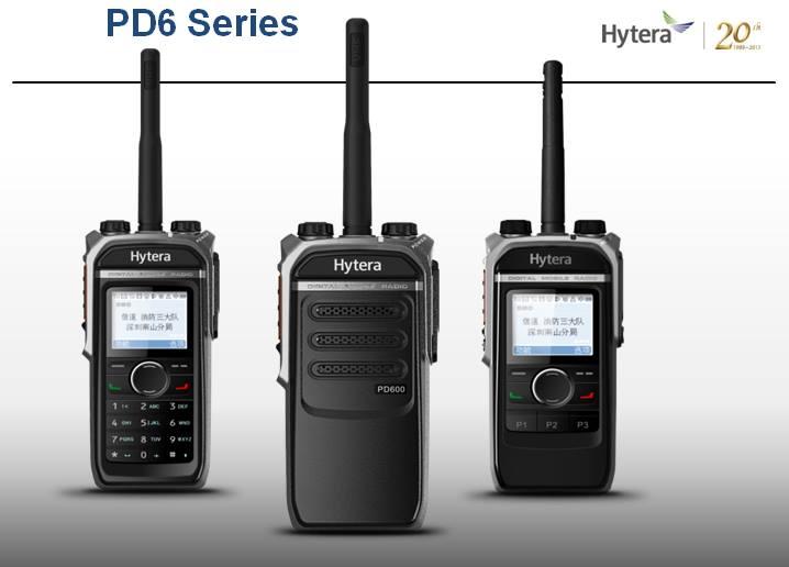 Nové řada radiostanic Hytera PD6