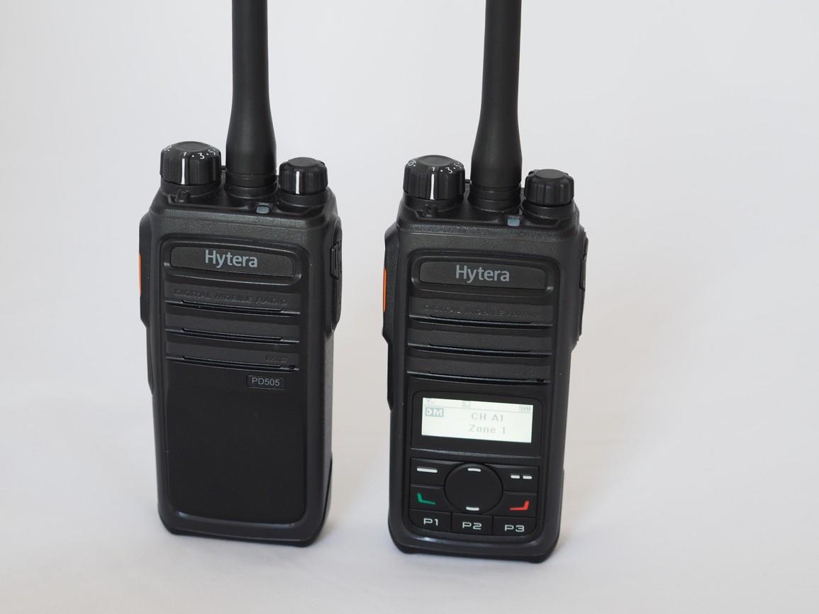 Digitální vysílačky Hytera řady PD5