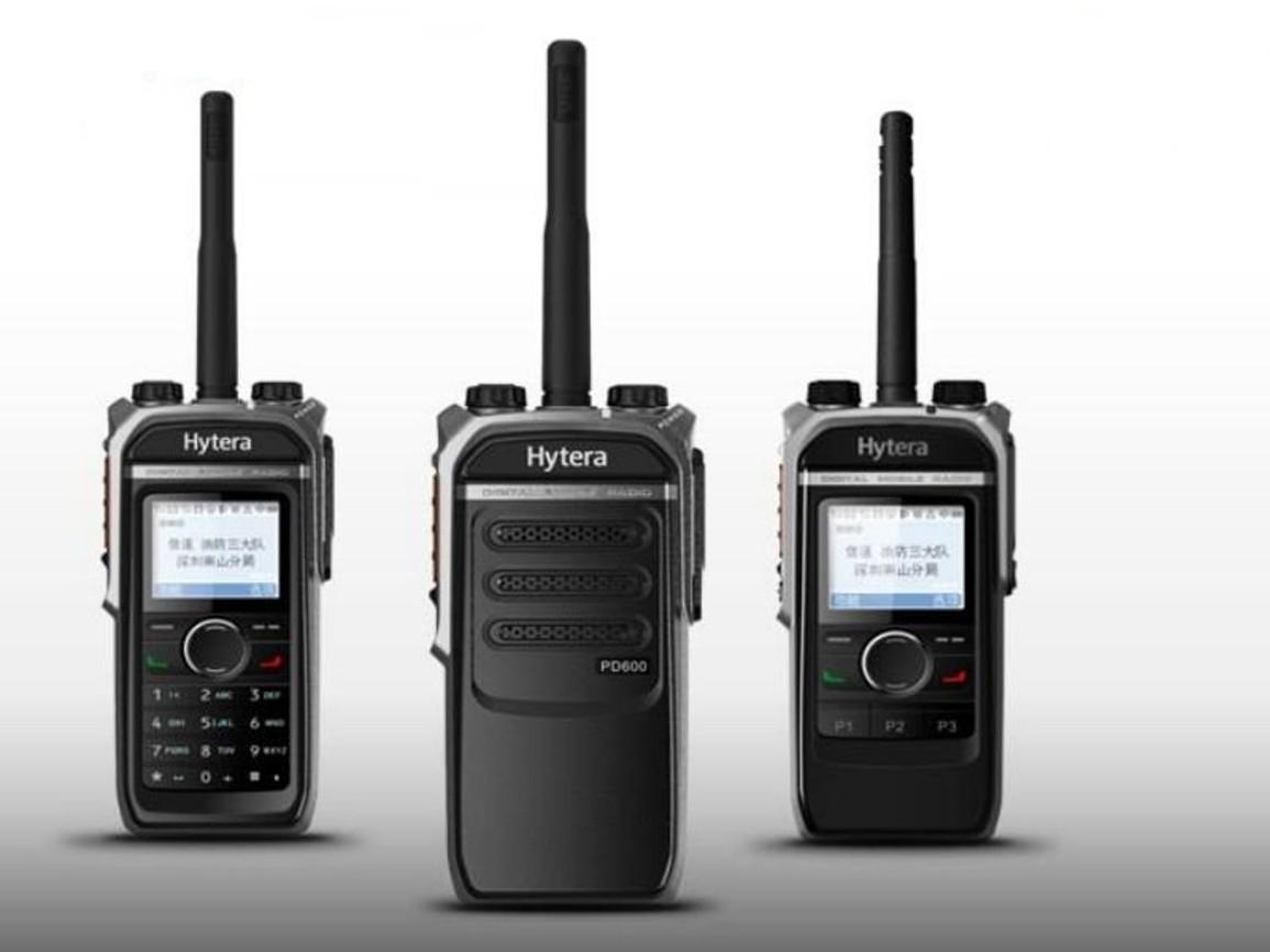Vysílačky Hytera řady PD6xx