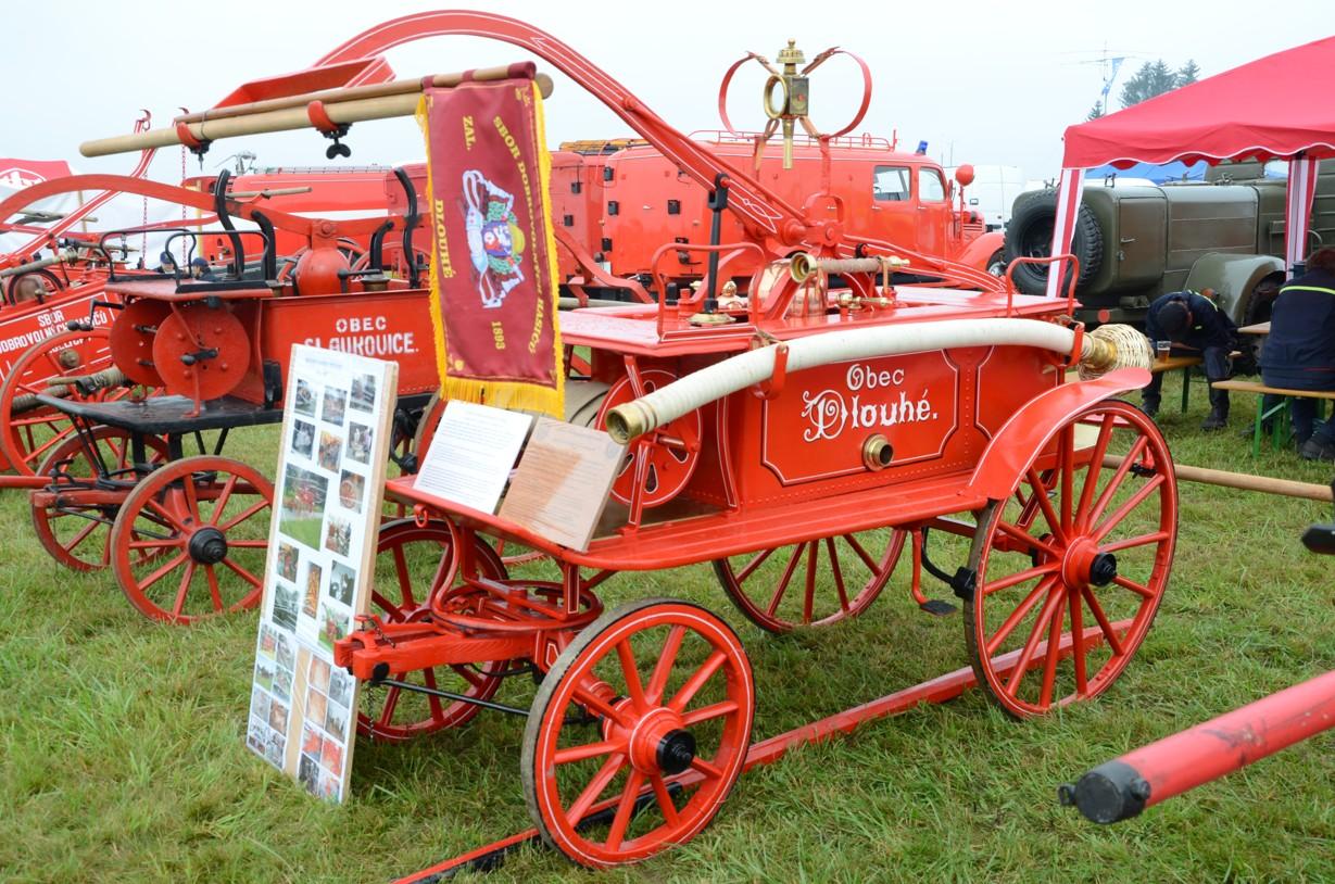 Přehlídka hasičských automobilů Pyrocar 2014