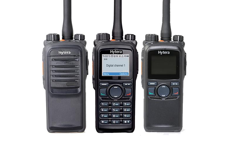 Radiostanice Hytera PD755 doplňuje digitální DMR modelovou řadu PD7