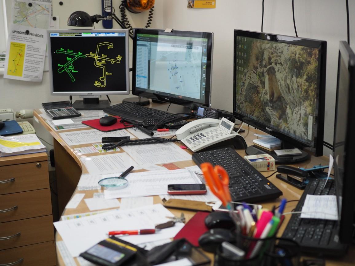 Dispečerské pracoviště MDP Opava