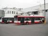 Trolejbusy v areálu MDP Opava
