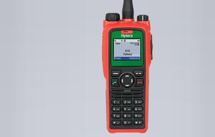 TETRA ATEX radiostanice Hytera PT790 Ex