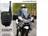 Bezdrátový mikrofon X10DR pro vozidlové radiostanice