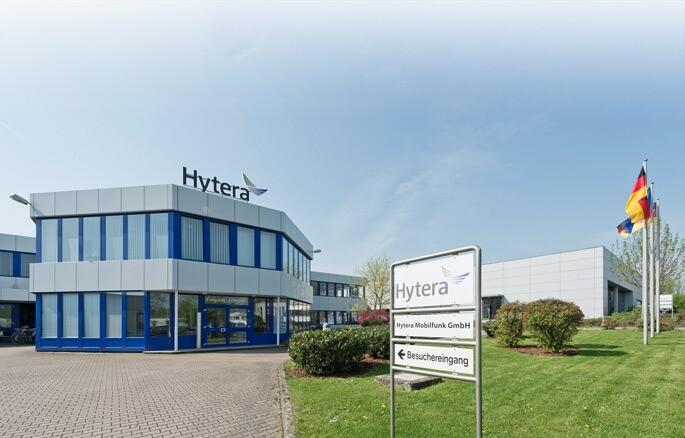 Sídlo Hytera Mobilfunk GmbH
