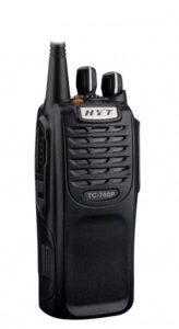 Profesionální radiostanice Hyt TC700P je velmi oblíbená mezi dobrovolnými hasiči