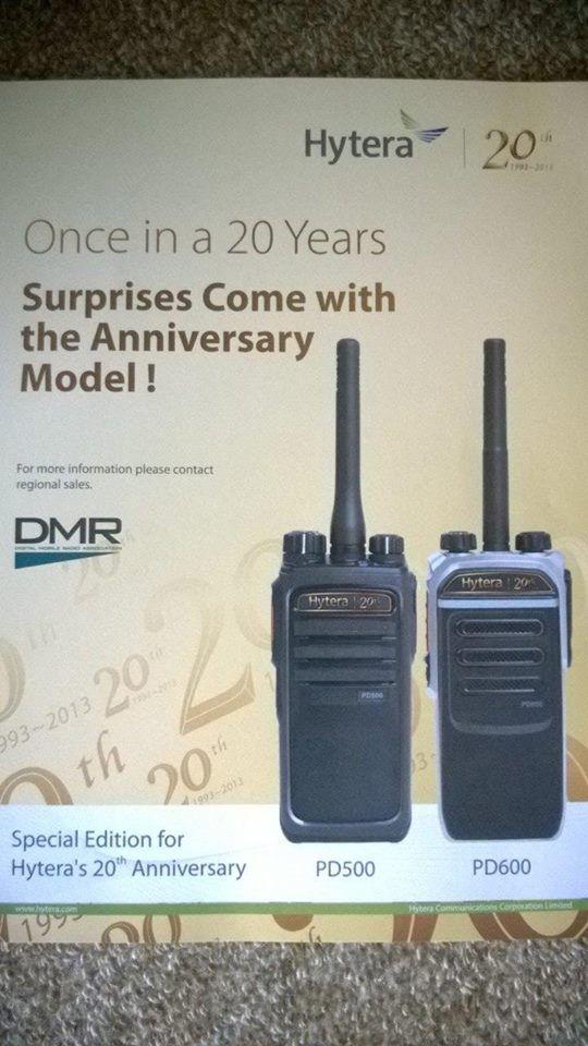 Nové vysílačky Hytera DMR