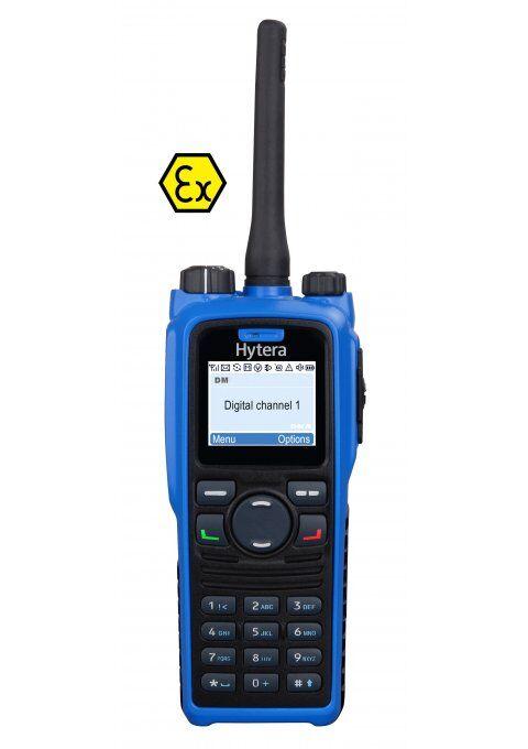 Přenosná ATEX radiostanice Hytera PD795Ex
