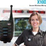 Bezdrátový mikrofon pro mobilní radiostanice