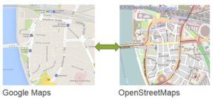 SmartDispatch podporuje Google Maps a Openstreet map