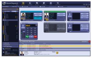 Řízení hovorů v aplikaci SmartDispatch