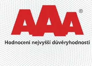 Logo certifikátu AAA