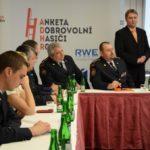 Tisková konference k zahájení ankety Dobrovolní hasiči roku 2014