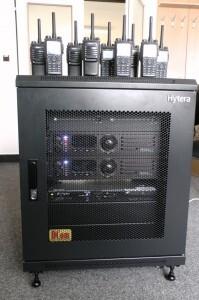 Digitální trunkový radiový systém Hytera DMR Tier III