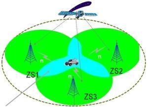 Simulcast synchronní radiová síť pracuje na jedné frekvenci