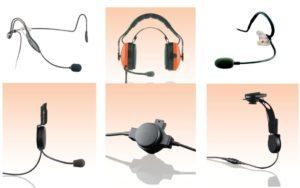 Příslušenství Ceotronics pro radiostanice hytera