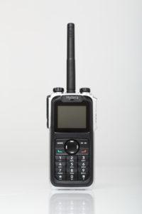 Ultratenká TETRA radiostanice Hytera Z1p
