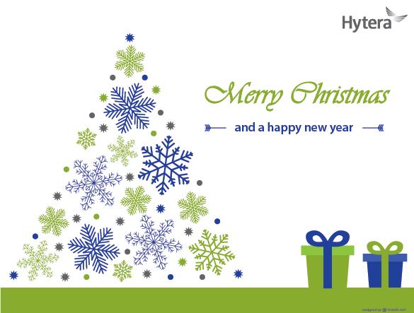 Hytera přeje veselé Vánoce a šťastný nový rok 2016