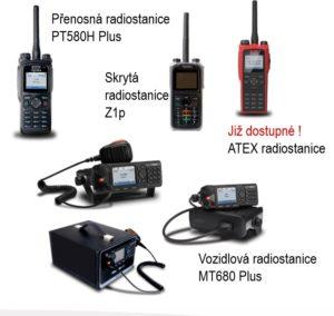 TETRA radiostanice Hytera