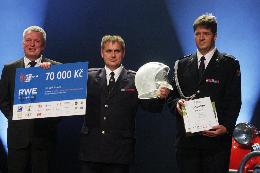 Dobrovolní hasiči roku dostanou digitální vysílačky Hytera