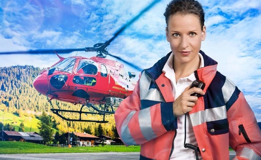 Vysílačky Hytera v rukou záchranářů