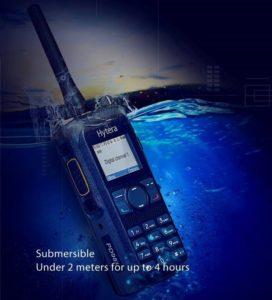 Digitální radiostanice Hytera PD985 ochrana proti prachu a vodě IP68