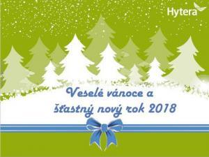 Hytera veselé Vánoce a šťastný nový rok 2017