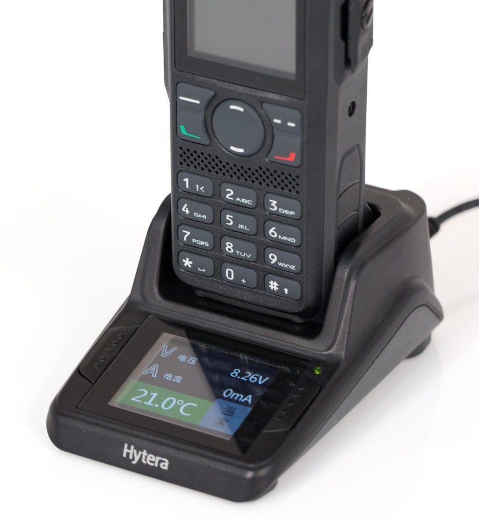 Inteligentní nabíječka pro radiostanice Hytera PD985