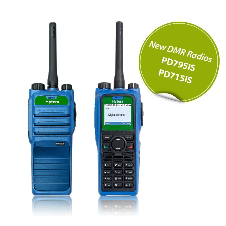 ATEX radiostanice Hytera PD795IS a PD715IS