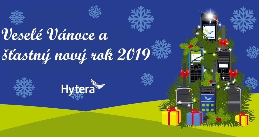 Veselé Vánoce a šťastný nový rok 2019
