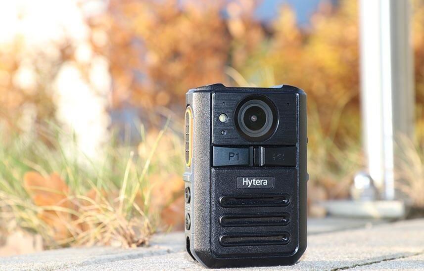 Osobní kamera VM550 pro vysílačky Hytera je vhodné řešení pro městské policie