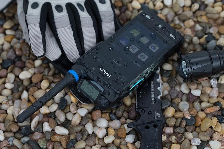 Multirežimová LTE / DMR / TETRA radiostanice Hytera PDC760 a PTC760