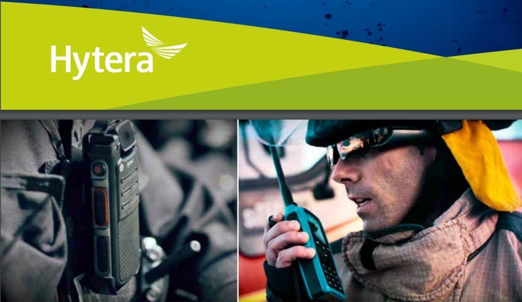 Společnost Hytera je druhý největší výrobce profesionální radiokomunikační techniky