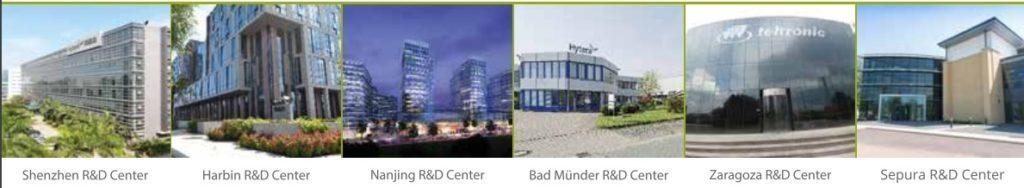 Společmost Hytera má 10 vývojových center po celém světě