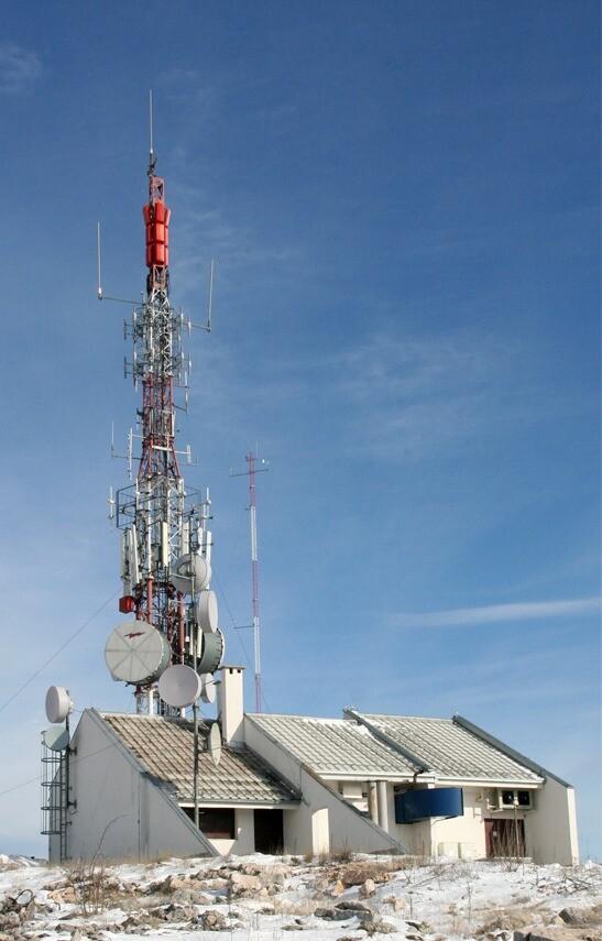 Základnová stanice mobilní radiové sítě Cronect