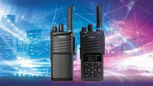 Přenosné vysílačky Hytera PT310 a PT350 pro profesionální mobilní radiové sítě TETRA