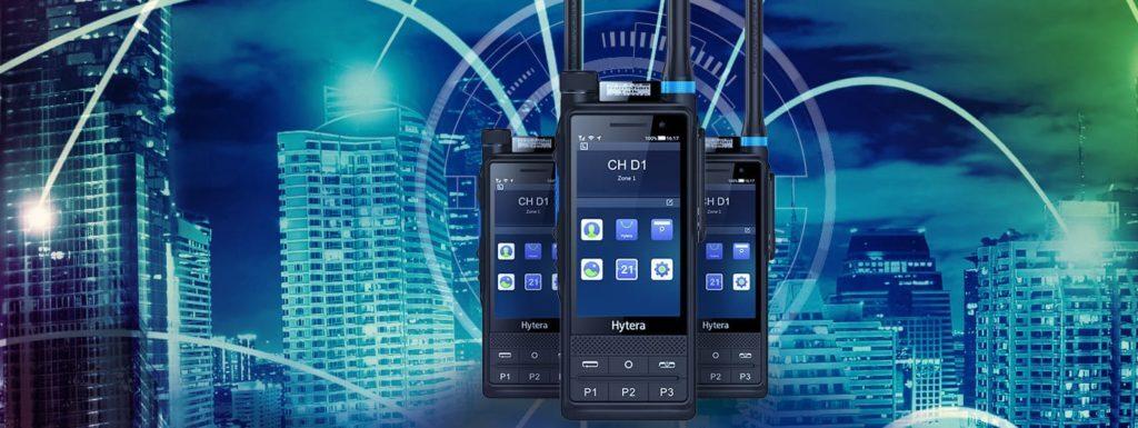 Chytrá android radiostanice Hytera PTC680 propojuje technologie TETRA a LTE
